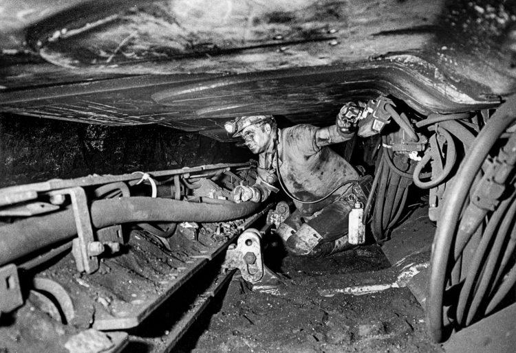Bergbau unter Tage Fotojournalist Oliver Schaper