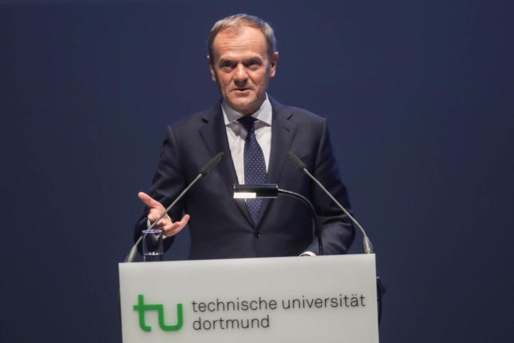 Donald Tusk Ehrendoktorwürde Fotojournalist Oliver Schaper