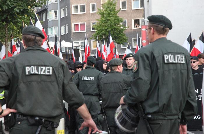 Demo gegen Rechts Fotojournalist Oliver Schaper