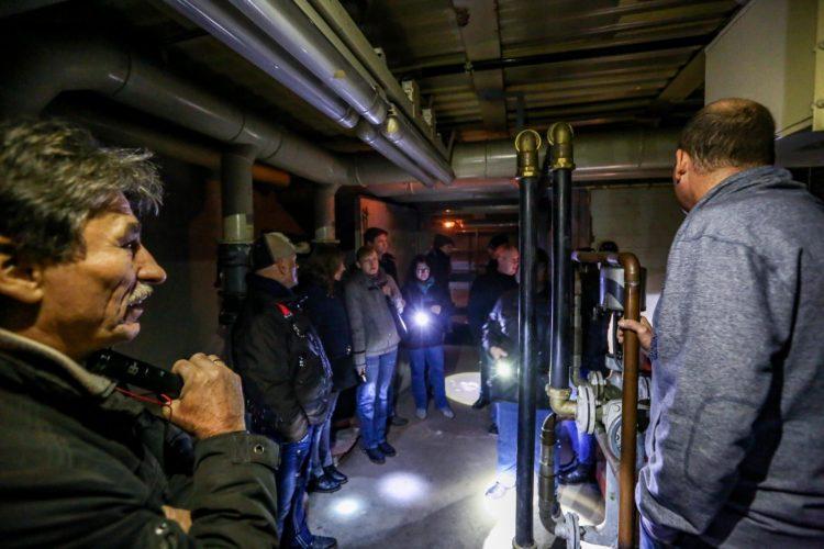 Taschenlampenführung Sonnenbunker Fotojournalist Oliver Schaper